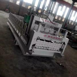 840900液压作用力双层压瓦机设备