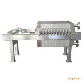 供应禹龙马450型不锈钢板框压滤机