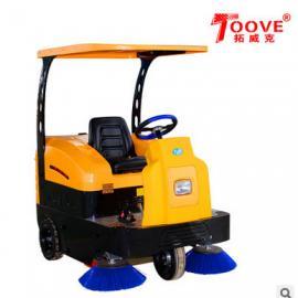 小区物业用驾驶式扫地吸尘车 TS-1500驾驶式洗地机