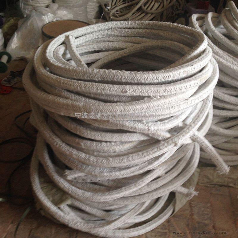 涂石墨陶瓷纤维盘根|骏驰出品耐高温涂橡胶石墨陶瓷纤维盘根
