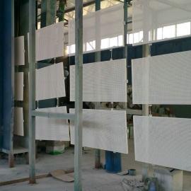 证券交易大厅墙面吸音板-镀锌穿孔吸音板