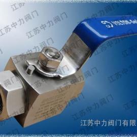 BKHP不锈钢超高压球阀