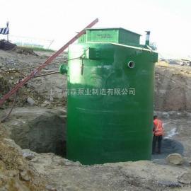 玻璃钢地埋式污水提升一体化泵站