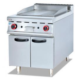 杰冠GH-986燃气扒炉连柜座 商用立式燃气扒炉