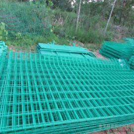 承德景区外围护栏网厂家-1.8×3米双边丝护栏网厂家报价