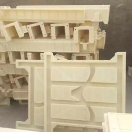 平肩栅栏模具-阶梯式栅栏模具-菱形混凝土栅栏模具