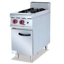 杰冠GH-977燃气煲仔炉连柜座 杰冠西餐炉具 商用煲仔炉