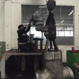 电动弹性座封焊接闸阀Z960Y-P55-100V