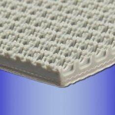 PVC花纹输送带 色橡胶爬坡带