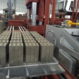 赣州粉末冶金压力机虎鼎砖机矿渣制砖环保虎鼎全自动压砖机
