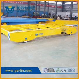 帕菲特垃圾转运滑触线轨道搬运电动平板车2吨坚固耐用