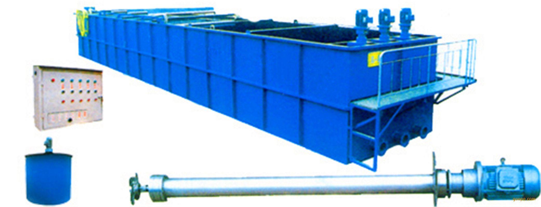 5,操作简单         qwf涡凹气浮设备结构简单,自动化程度高,操作