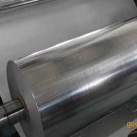现货1米1.2米1.5米2米 150g16丝铝塑编织布复合铝塑镀铝编制膜