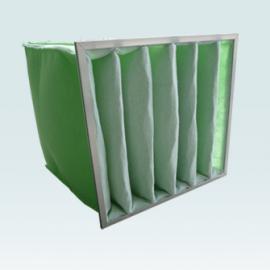 伟峰净化 滤芯式过滤器 镀锌框高效过滤器