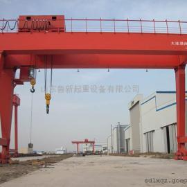 厂家出售货场用二手双梁龙门吊50吨80吨跨度10-50米