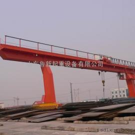 厂家出售L型单主梁门式起重机16吨20吨可租可售龙门吊价格
