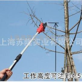 电动修枝剪 电动果枝剪 电动2.1米加长杠园林剪 粗枝剪