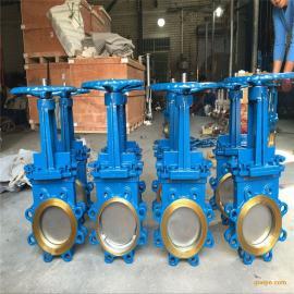 不锈钢手动浆料闸阀、手动式铸钢放料阀