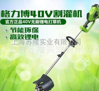 格力博40V打家用洗车头锂电池割草机-v家用修草头除草自吸水泵图片