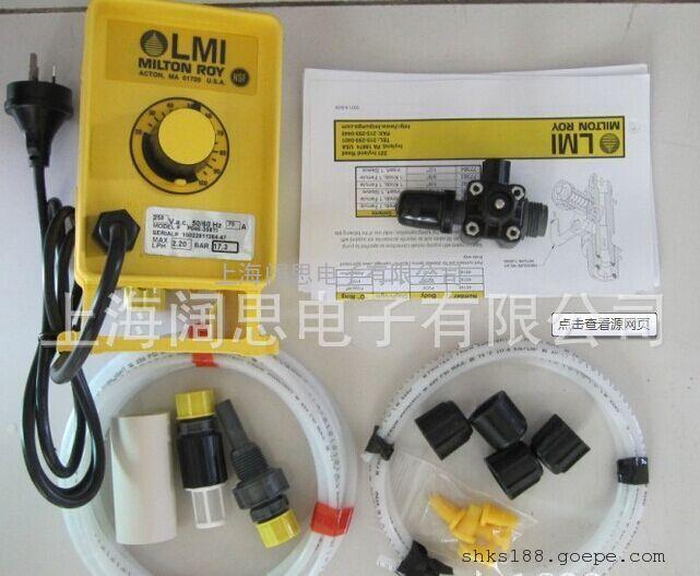 美国米顿罗计量泵P126-358TI加药计量泵正品保证