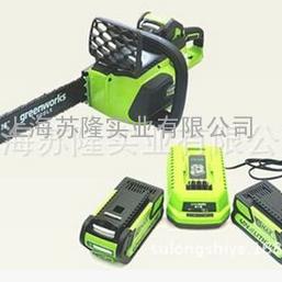 格力博无刷充电式链锯大容量40V,80V锂电电锯