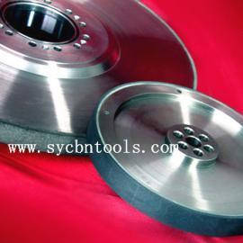 高精度陶瓷cbn砂轮磨曲轴专用