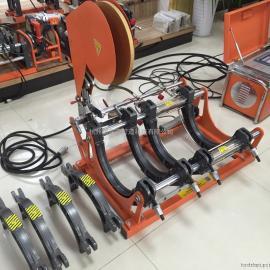 煤改气工程专用315型PE燃气管全自动热熔对焊机