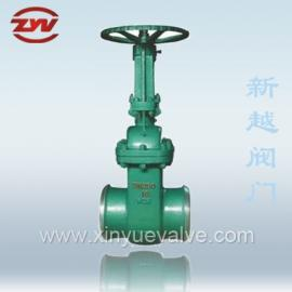 铸钢法兰水封闸阀 Z44H-10C 温州厂家