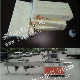 枕式白包抽纸自动包装机,商务专用抽纸包装机