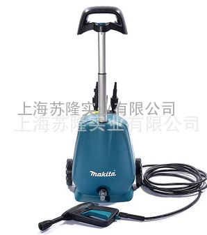 日本牧田高压洗车机家用220V清洗机,HW102水枪洗车器