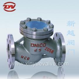 铸钢升降式止回阀 H41H-10C 温州厂家