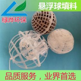 悬浮球填料 生物球填料 悬浮球 不堵塞 易挂膜
