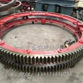 福建三明2.0米活性炭转炉大齿轮 活化炉齿轮