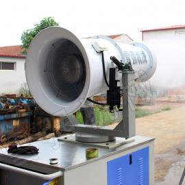 采矿厂雾炮机干煤棚降尘喷雾设备 远程风送式喷雾机雾炮除尘