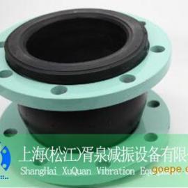 供应上海DN65不锈钢耐油橡胶接头、美标耐酸碱橡胶软接头