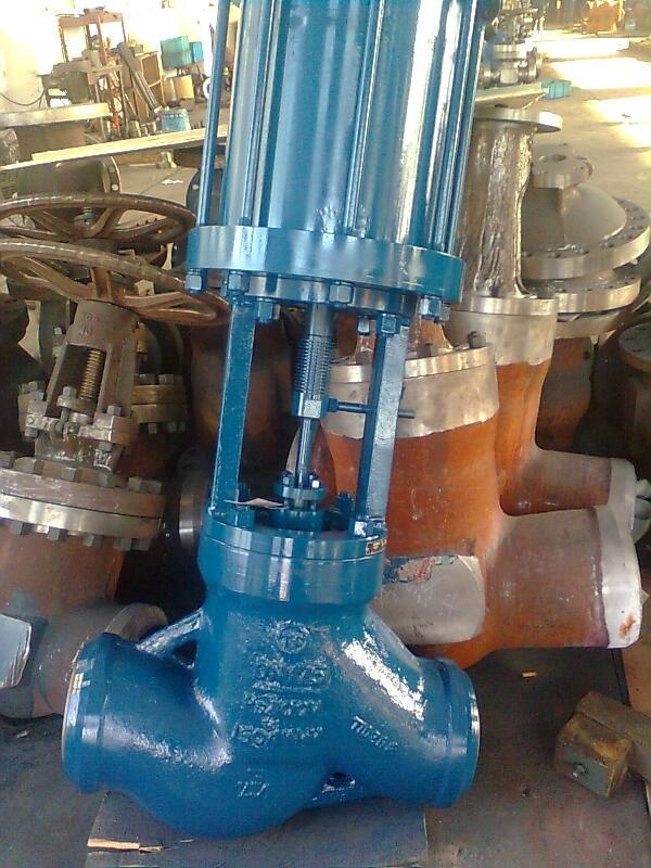J661Y-100 气动高压焊接截止阀 电力高压气动截止阀