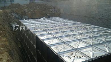 陕西地埋式镀锌钢板水箱厂家