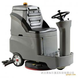 大规模驾驶式洗地机丨仓库工业空中洁肤机,正规店里用