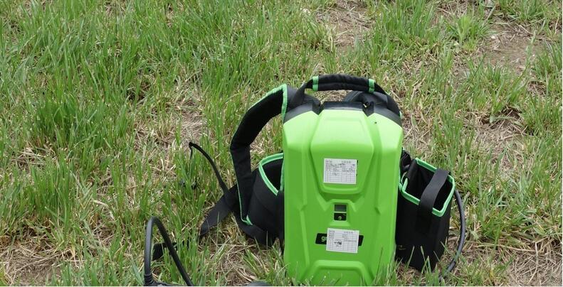 格力博80v充电背包电池电锯绿篱机专用锂电池图片