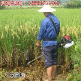稻谷收割机 小麦水稻收割机 背负式割谷机高性价比