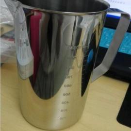SUS304不�P�量杯 3L量杯�F形量杯 �韧饪潭缺�
