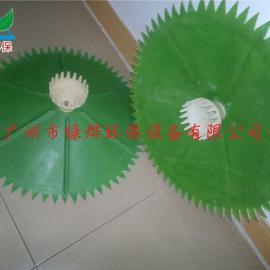 散流式曝气器 污水处理曝气设备曝气头