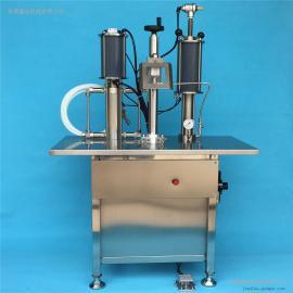 半自动抛射剂灌装机 定量灌装设备 气雾剂灌装机械
