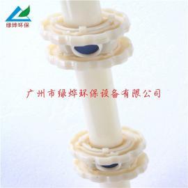 单孔膜式曝气器 曝气头 微孔曝气器 膜片不脱落 使用方便