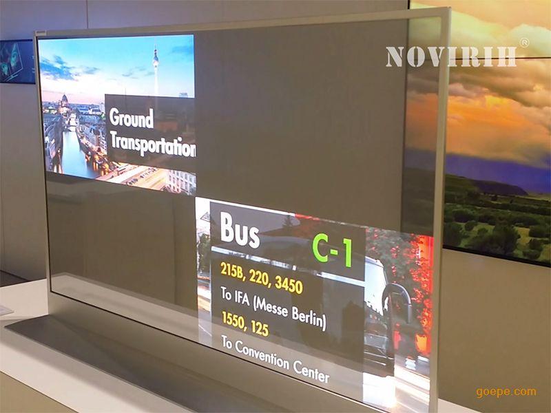 novirih,nvol550,oled透明顯示屏,諾銳維赫科技透明顯示屏產品圖片