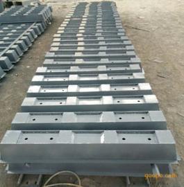双块式预制轨枕钢模具,混凝土矿山路轨模具-技术规格