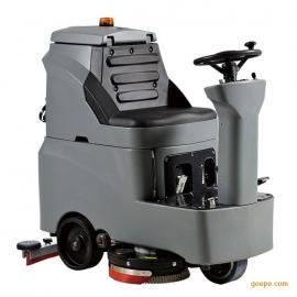 地下泊车场座驾式洗地机丨大规模驾驶式空中洁肤机洗地机