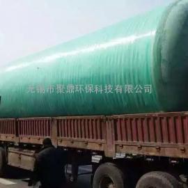 江阴市地埋式2立方玻璃钢化粪池