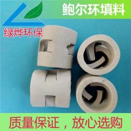 废气塔鲍尔环 陶瓷鲍尔环 38鲍尔环 通量大 阻力小