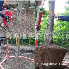 小松QNW 50挖树机、 便携式挖树机、小松断根机